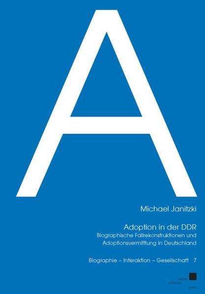 Adoption in der DDR - Coverbild