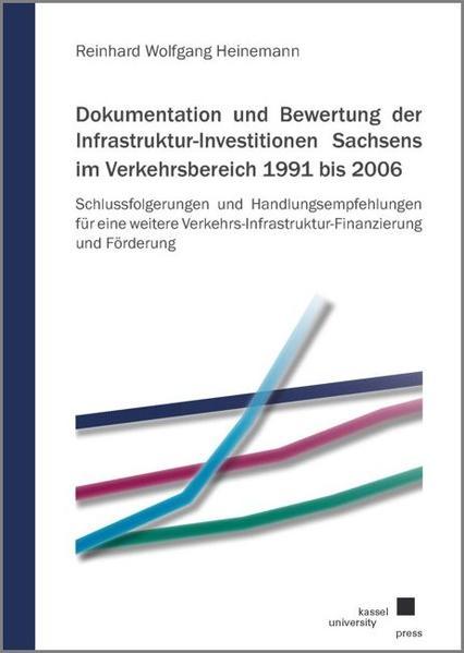 Dokumentation und Bewertung der Infrastruktur-Investitionen Sachsens im Verkehrsbereich 1991 bis 2006 - Coverbild