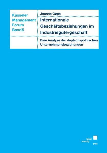 Internationale Geschäftsbeziehungen im Industriegütergeschäft - Coverbild