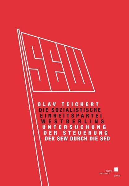 Die Sozialistische Einheitspartei Westberlins. - Coverbild