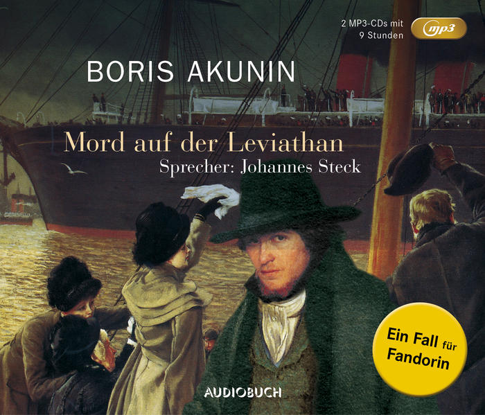 Mord auf der Leviathan (MP3-CDs) - Coverbild