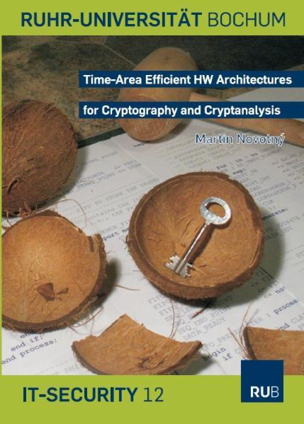 Time-Area Efficient HW Architectures for Cryptography and Cryptanalysis - Coverbild