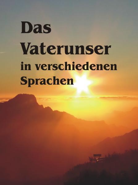Das Vaterunser in verschiedenen Sprachen - Coverbild