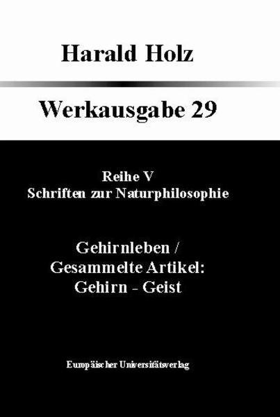 Schriften zur Naturphilosophie - Coverbild