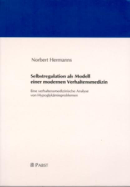 Selbstregulation als Modell einer modernen Verhaltensmedizin - Coverbild