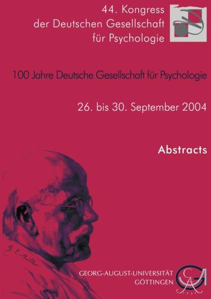44. Kongress der Deutschen Gesellschaft für Psychologie - Coverbild