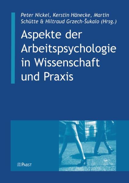 Aspekte der Arbeitspsychologie in Wissenschaft und Praxis - Coverbild