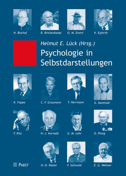 Psychologie in Selbstdarstellungen - Coverbild