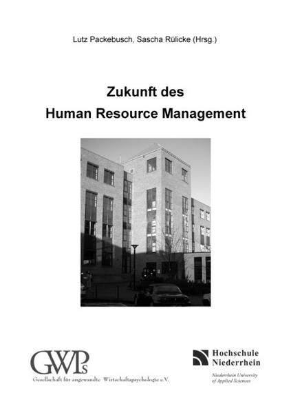 Zukunft des Human Resource Management - Coverbild