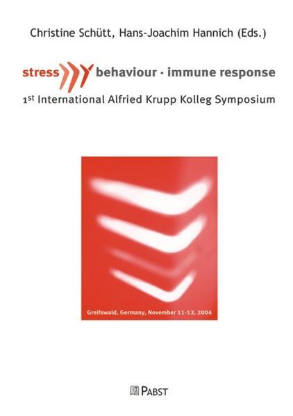 Stress, Behavior and Immune Response - Coverbild
