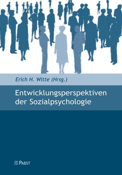 Entwicklungsperspektiven der Sozialpsychologie - Coverbild