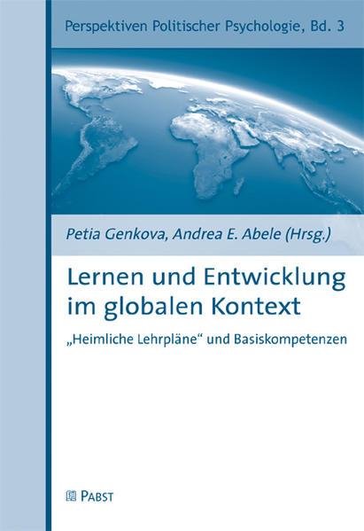 Lernen und Entwicklung im globalen Kontext - Coverbild