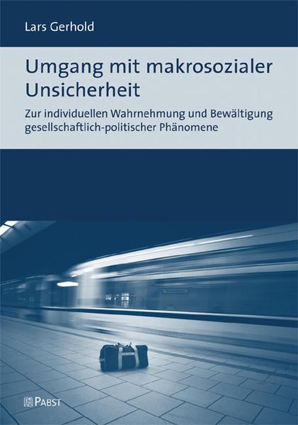 Umgang mit makrosozialer Unsicherheit - Coverbild