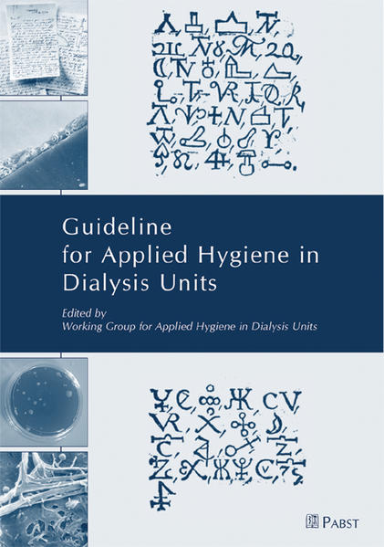 Guideline for Applied Hygiene in Dialysis Units - Coverbild
