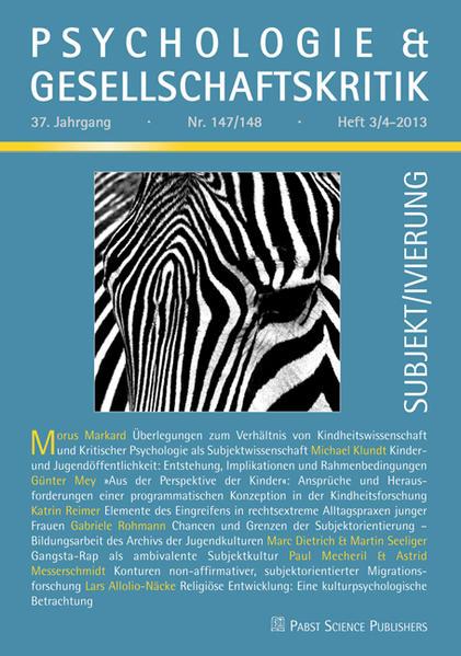 Subjekt/ivierung - Coverbild