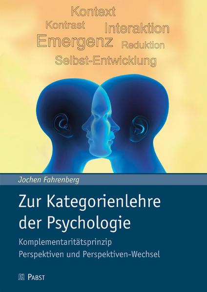 Zur Kategorienlehre der Psychologie - Coverbild