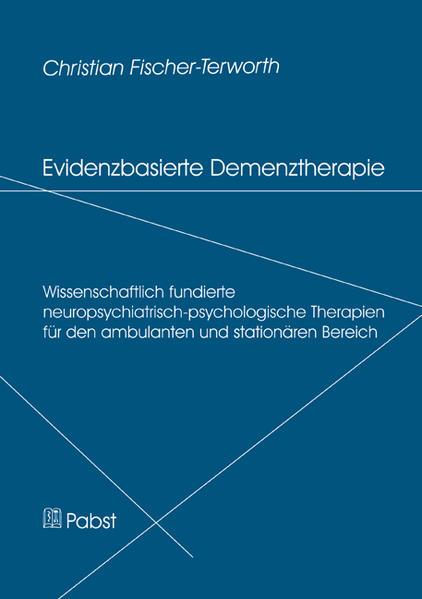 Evidenzbasierte Demenztherapie - Coverbild