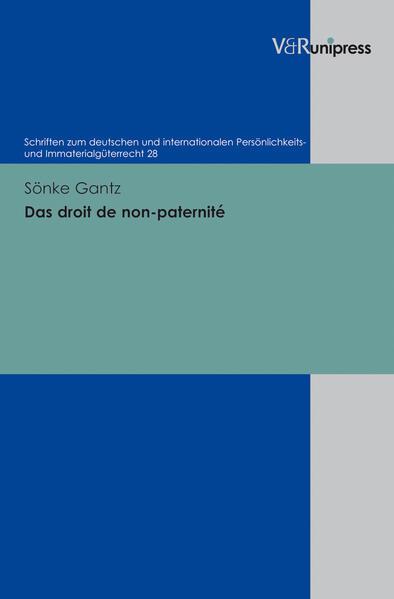 Das droit de non-paternité - Coverbild
