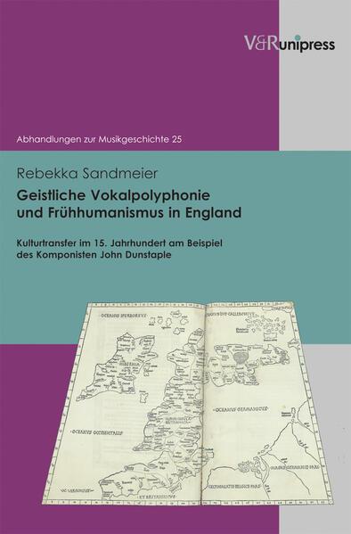 Geistliche Vokalpolyphonie und Frühhumanismus in England - Coverbild