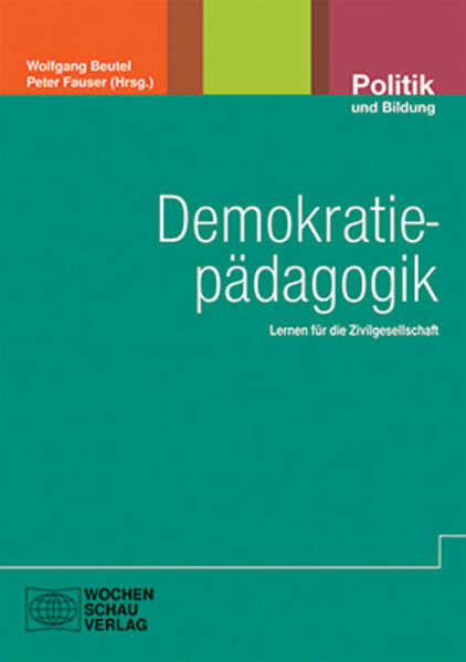 Demokratiepädagogik - Coverbild