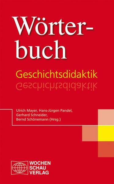 Wörterbuch Geschichtsdidaktik - Coverbild