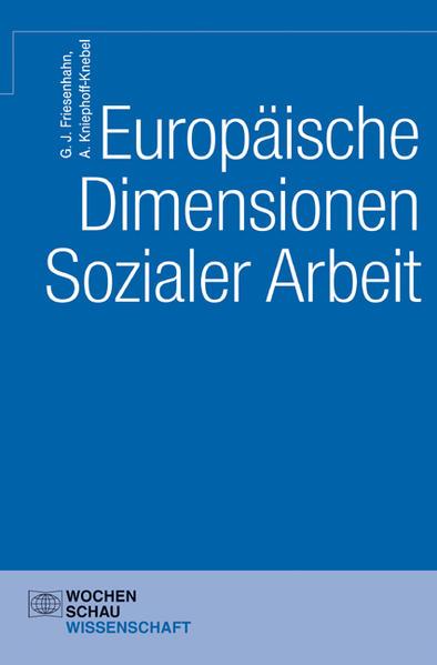 Europäische Dimensionen Sozialer Arbeit - Coverbild