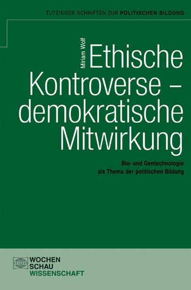 Ethische Kontroverse – demokratische Mitwirkung - Coverbild