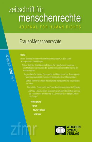 FrauenMenschenrechte - Coverbild