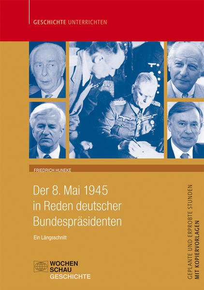 Der 8. Mai 1945 in Reden der Bundespräsidenten, nur CD - Coverbild