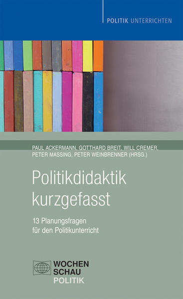 Politikdidaktik kurzgefasst - Coverbild