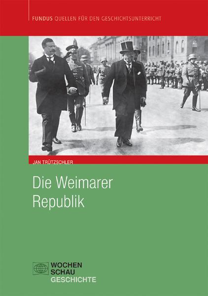 Die Weimarer Republik - Coverbild