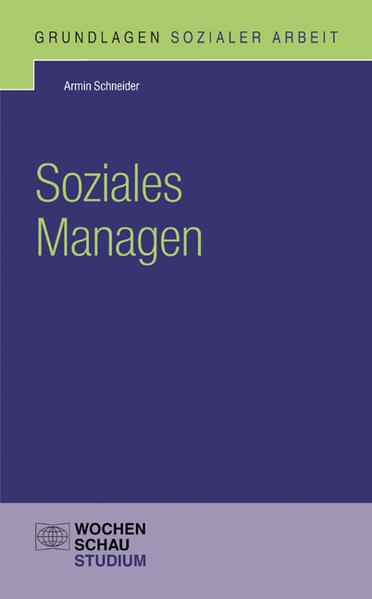 Soziales Managen - Coverbild