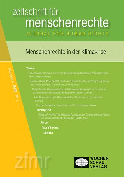 Menschenrechte in der Klimakrise - Coverbild