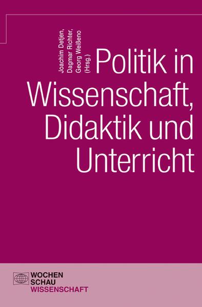 Politik in Wissenschaft, Didaktik und Unterricht - Coverbild
