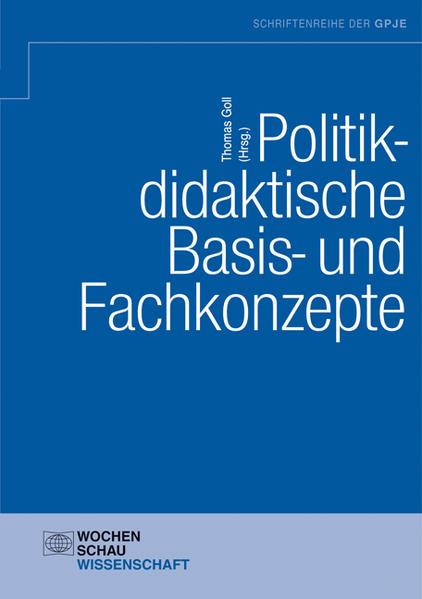 Politikdidaktische Basis- und Fachkonzepte - Coverbild