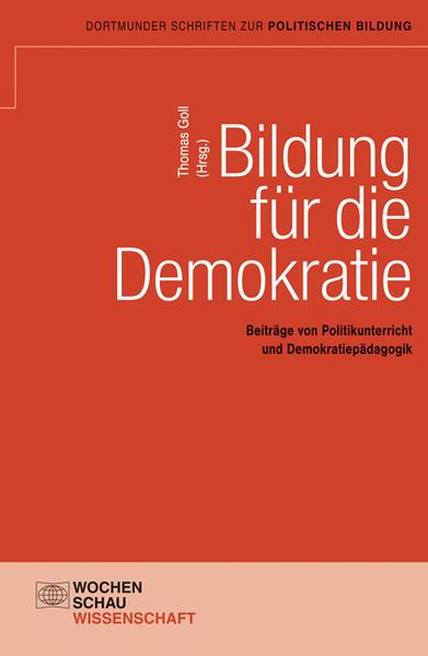 Bildung für die Demokratie - Coverbild