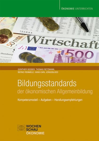 Bildungsstandards der ökonomischen Allgemeinbildung - Coverbild