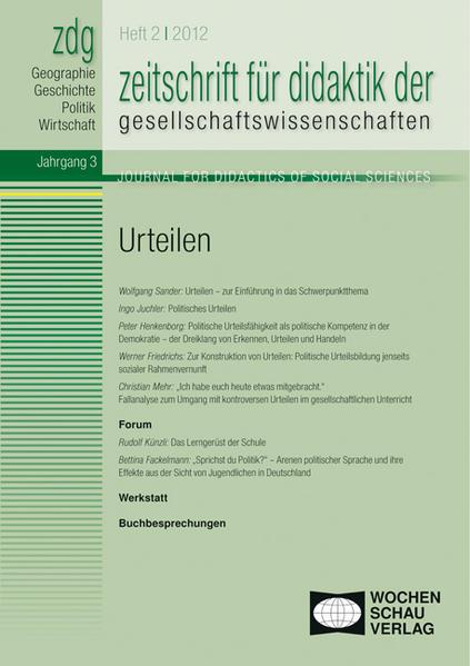 ZDG 2/12, Urteilen - Coverbild