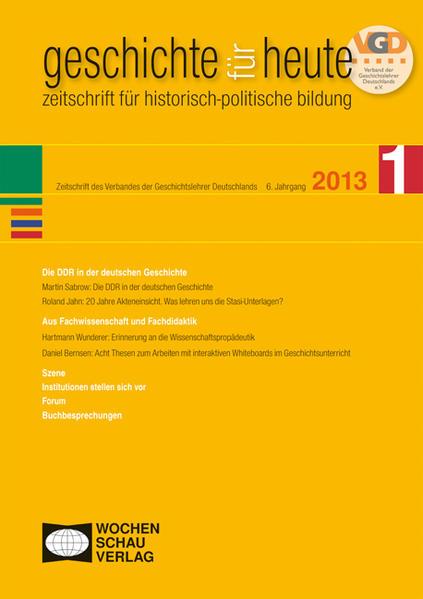 Die DDR in der deutschen Geschichte - Coverbild