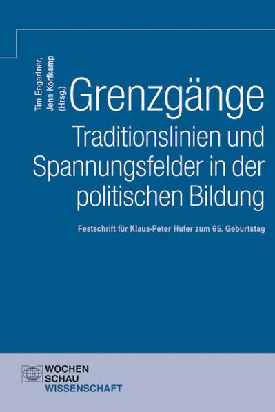 Grenzgänge. Traditionslinien und Spannungsfelder in der politischen Bildung - Coverbild