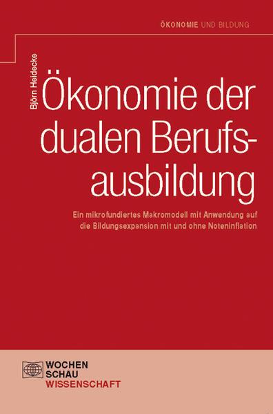Ökonomie der dualen Berufsausbildung - Coverbild