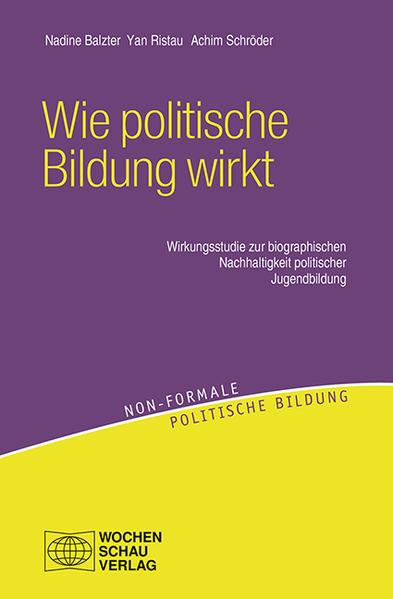 Wie politische Bildung wirkt - Coverbild