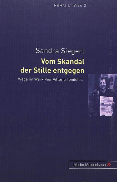 Vom Skandal der Stille entgegen - Coverbild