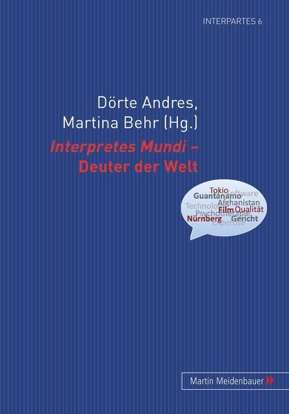 Interpretes Mundi – Deuter der Welt - Coverbild