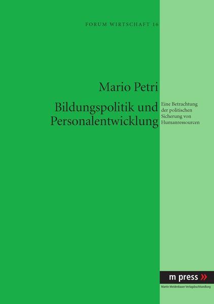 Bildungspolitik und Personalentwicklung - Coverbild