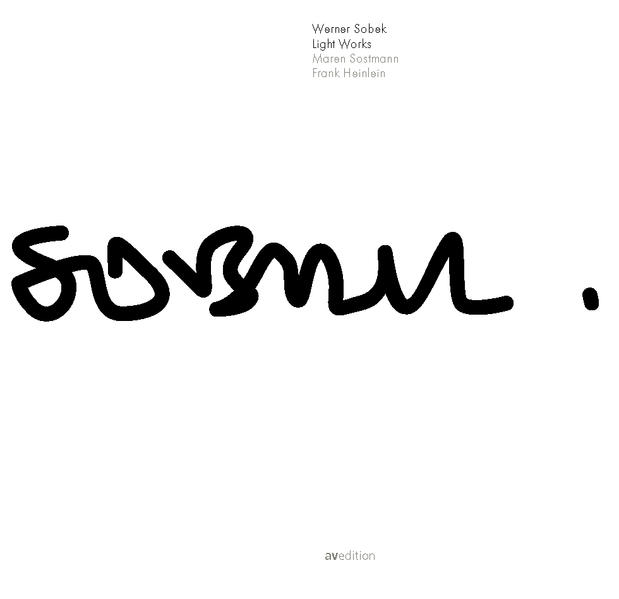Werner Sobek: Light Works - Coverbild