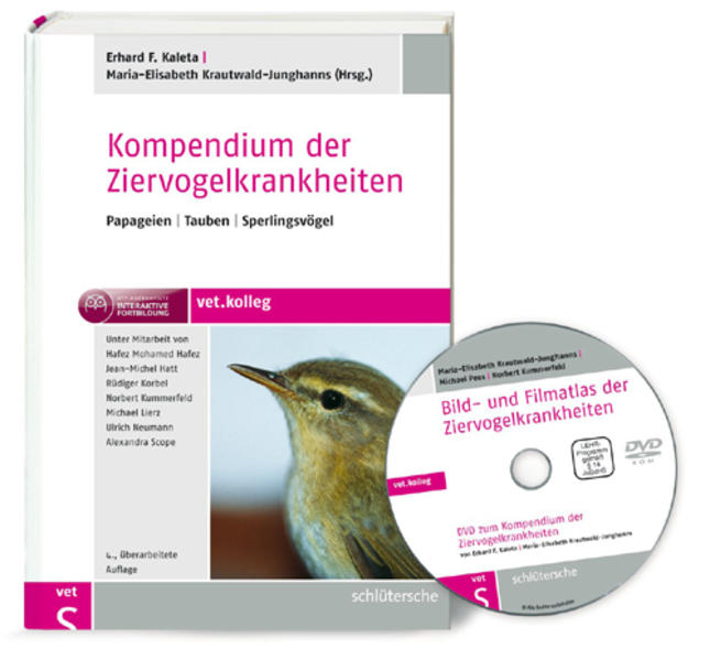 Kompendium der Ziervogelkrankheiten - Coverbild
