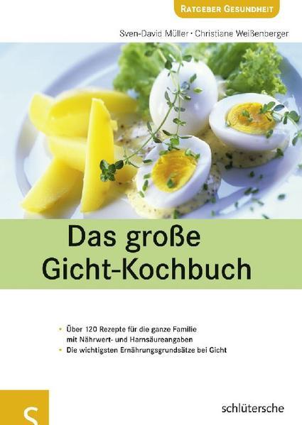 Das große Gicht-Kochbuch - Coverbild