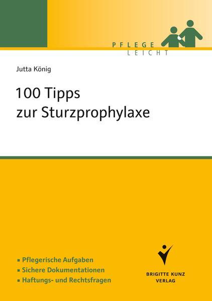 100 Tipps zur Sturzprophylaxe - Coverbild