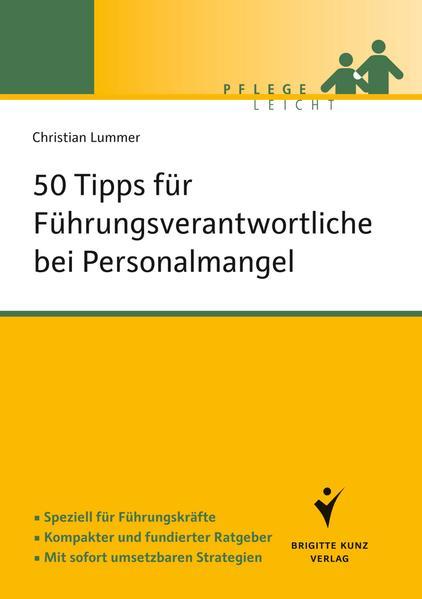 50 Tipps für Führungsverantwortliche bei Personalmangel - Coverbild